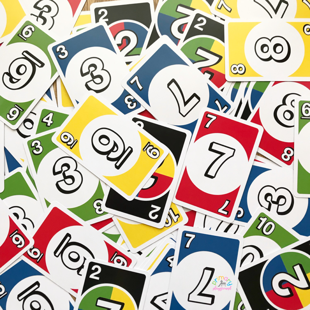5 Math Games To Play With DOS Cards