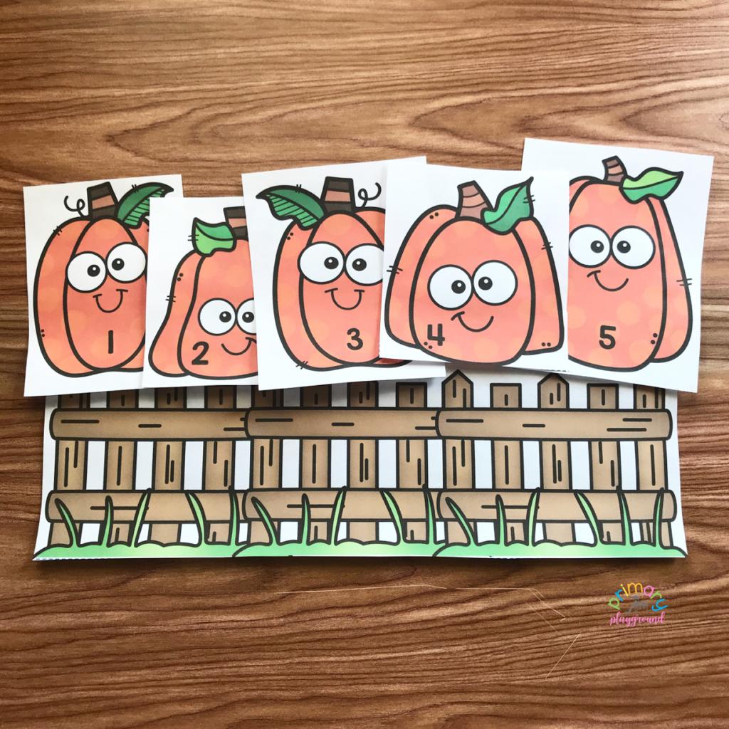 Free Printable Five Little Pumpkins Primary Playground